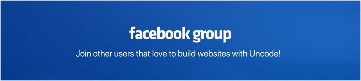 fb group min - Uncode - Creative Multiuse WordPress Theme