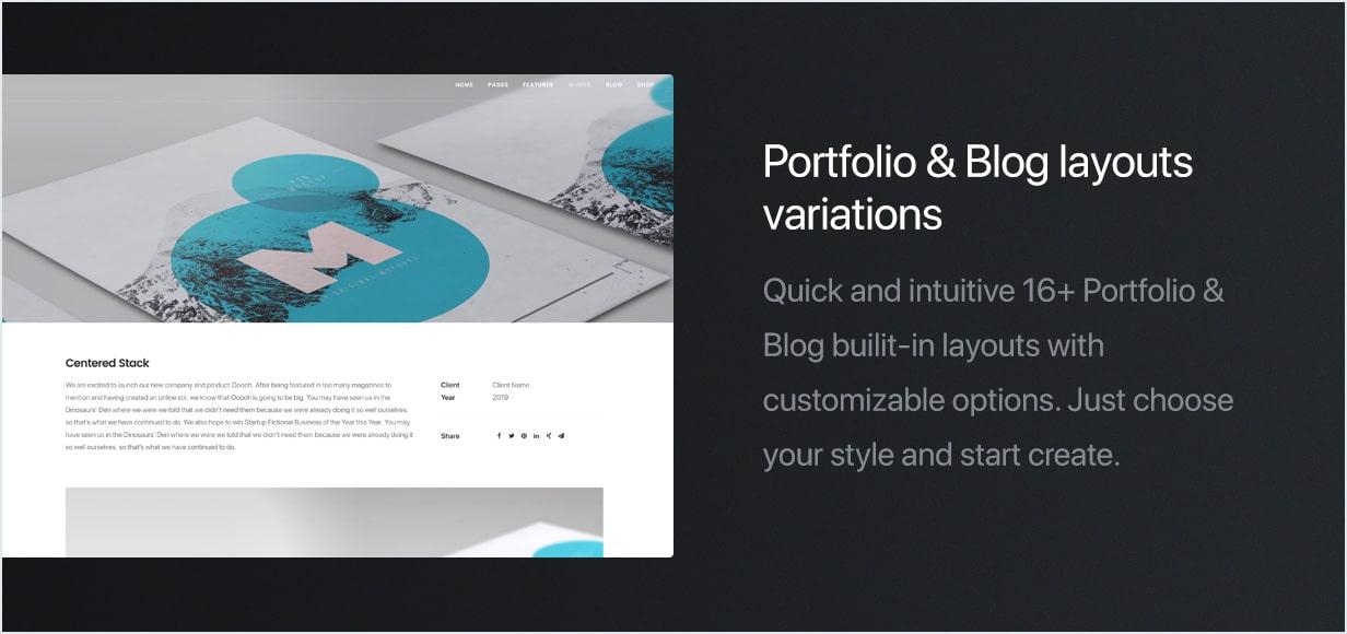 feature layouts min - Uncode - Creative Multiuse WordPress Theme