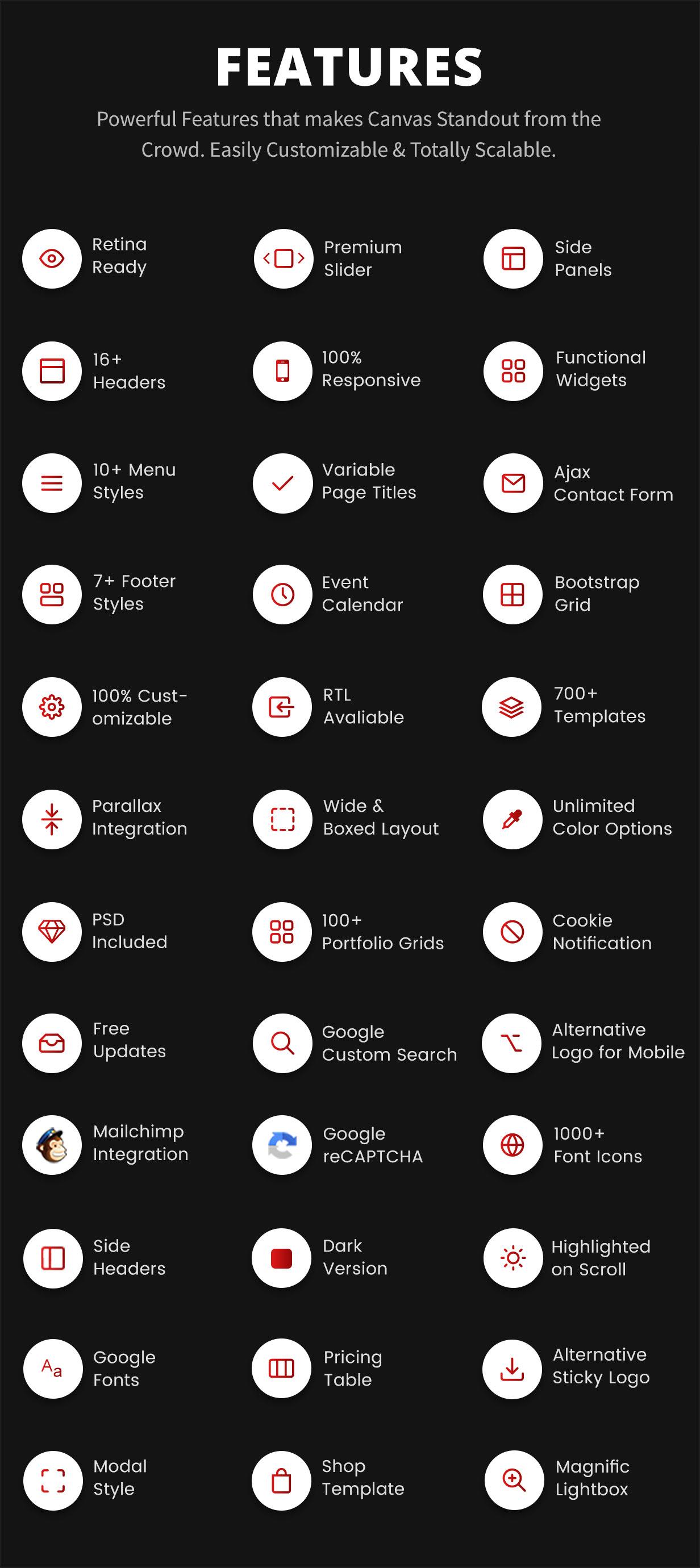 featured - Canvas   The Multi-Purpose HTML5 Template