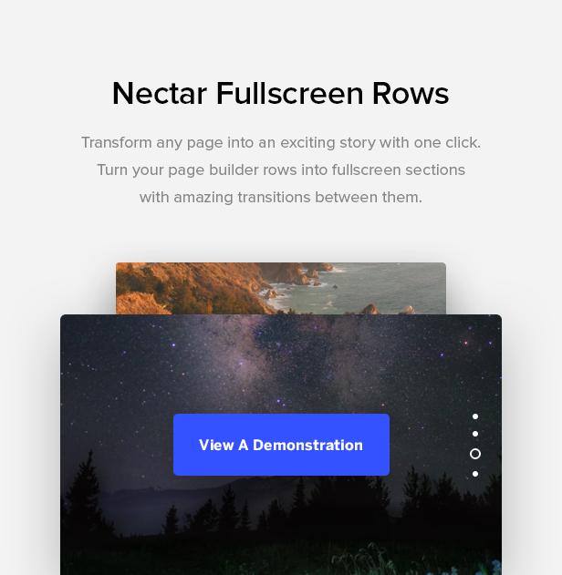 fullscreen rows - Salient - Responsive Multi-Purpose Theme