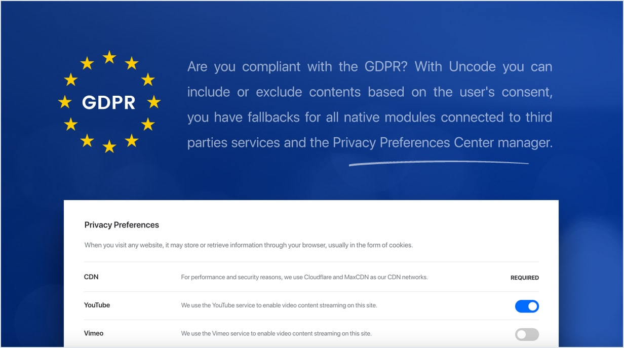gdpr min - Uncode - Creative Multiuse WordPress Theme