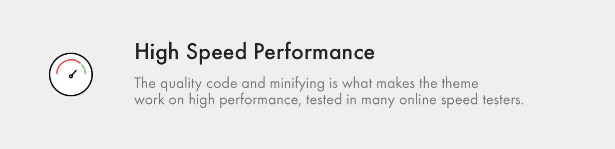 high speed performance - Kalium - Creative Theme for Professionals