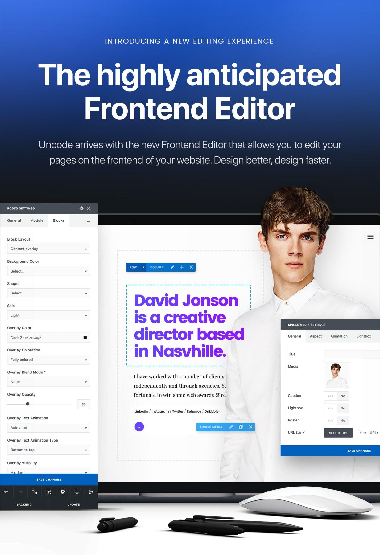 intro update frontend editor blue min - Uncode - Creative Multiuse WordPress Theme
