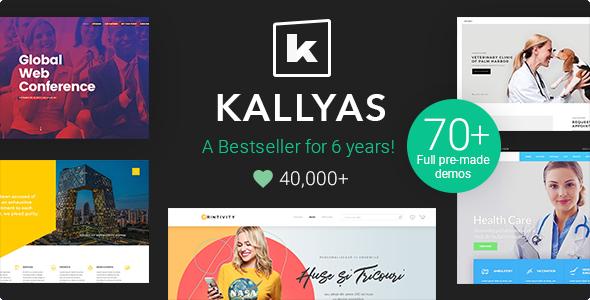 kallyas wordpress theme preview.  large preview - KALLYAS - Creative eCommerce Multi-Purpose WordPress Theme
