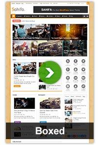 layouts boxed - Sahifa - Responsive WordPress News / Magazine / Blog Theme