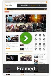layouts framed - Sahifa - Responsive WordPress News / Magazine / Blog Theme