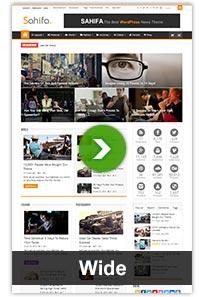 layouts wide - Sahifa - Responsive WordPress News / Magazine / Blog Theme