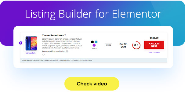 listingbuilder - REHub - Price Comparison, Multi Vendor Marketplace, Affiliate Marketing, Community Theme