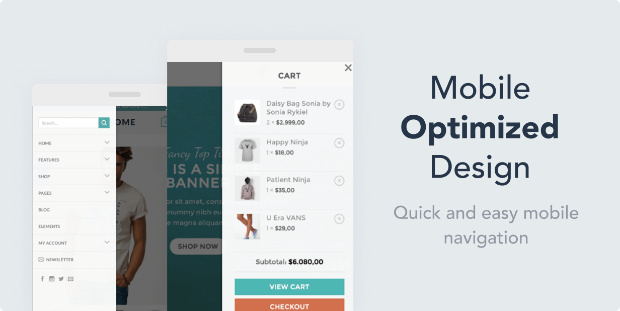 mobile optimized - Flatsome | Multi-Purpose Responsive WooCommerce Theme