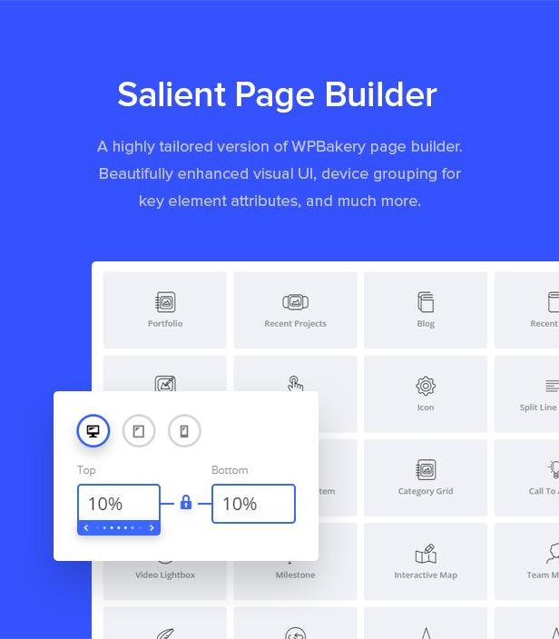 page builder - Salient - Responsive Multi-Purpose Theme