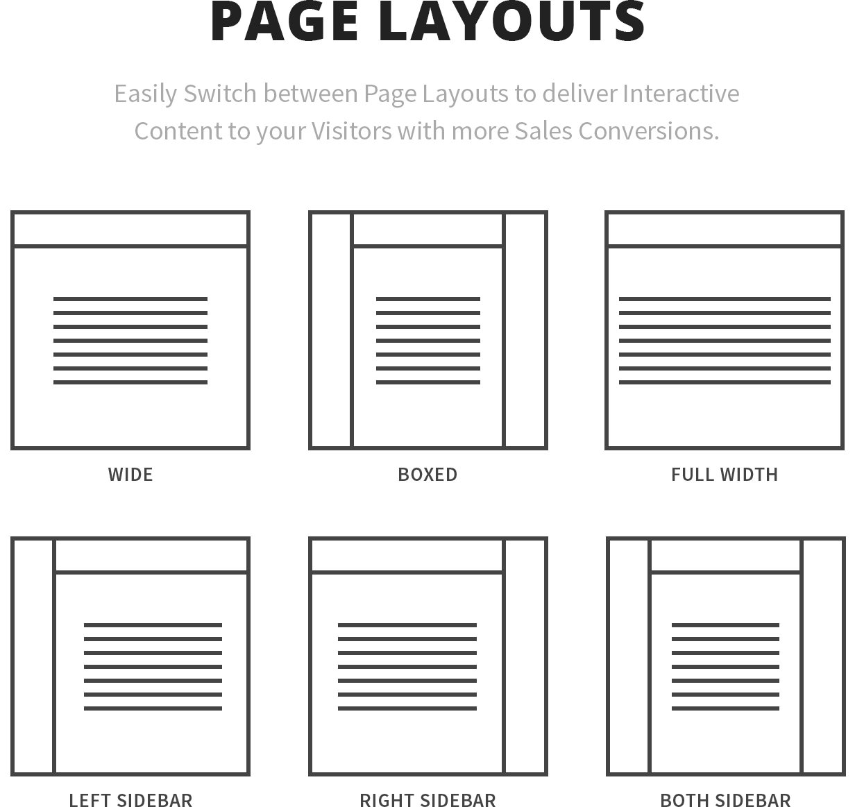 page layouts - Canvas   The Multi-Purpose HTML5 Template