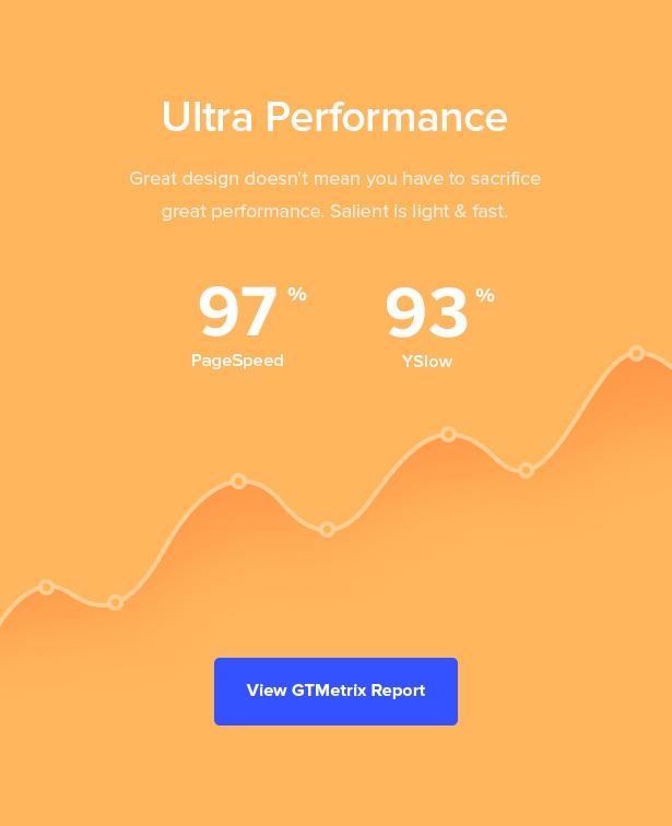performance - Salient - Responsive Multi-Purpose Theme