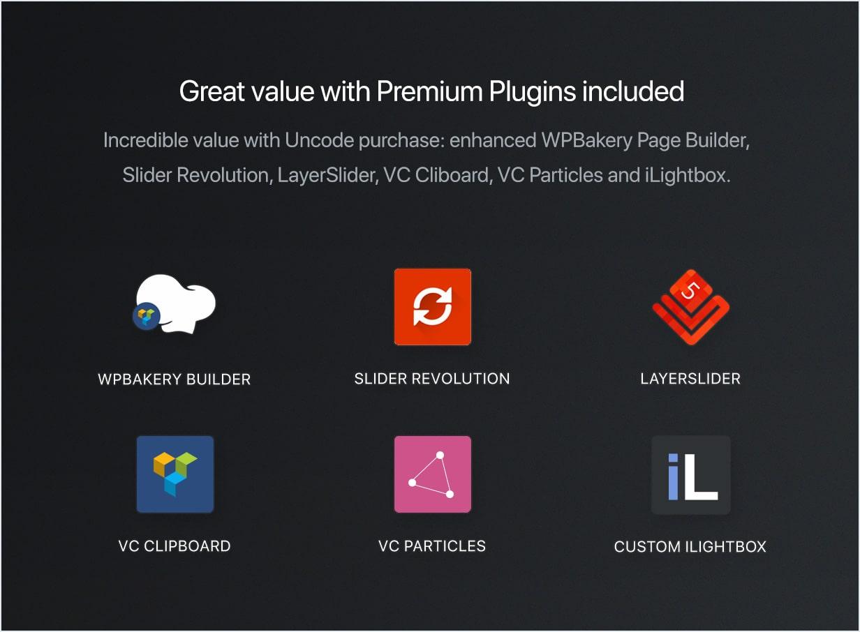 plugins min - Uncode - Creative Multiuse WordPress Theme