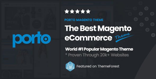 preview magento.  large preview - Porto | Ultimate Responsive Magento Theme