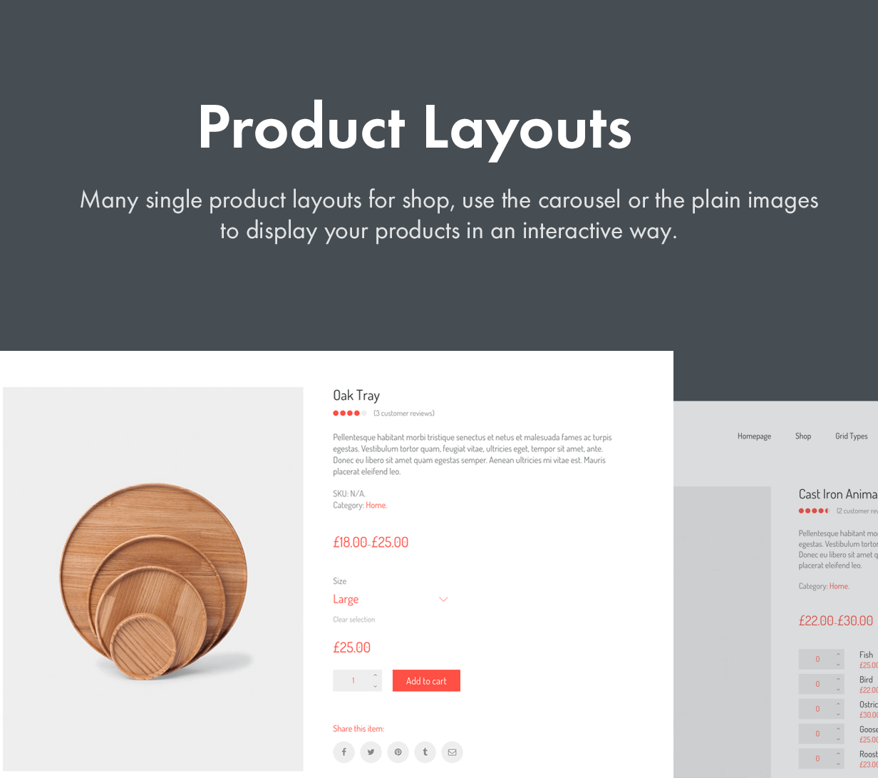 product layouts - Kalium - Creative Theme for Professionals