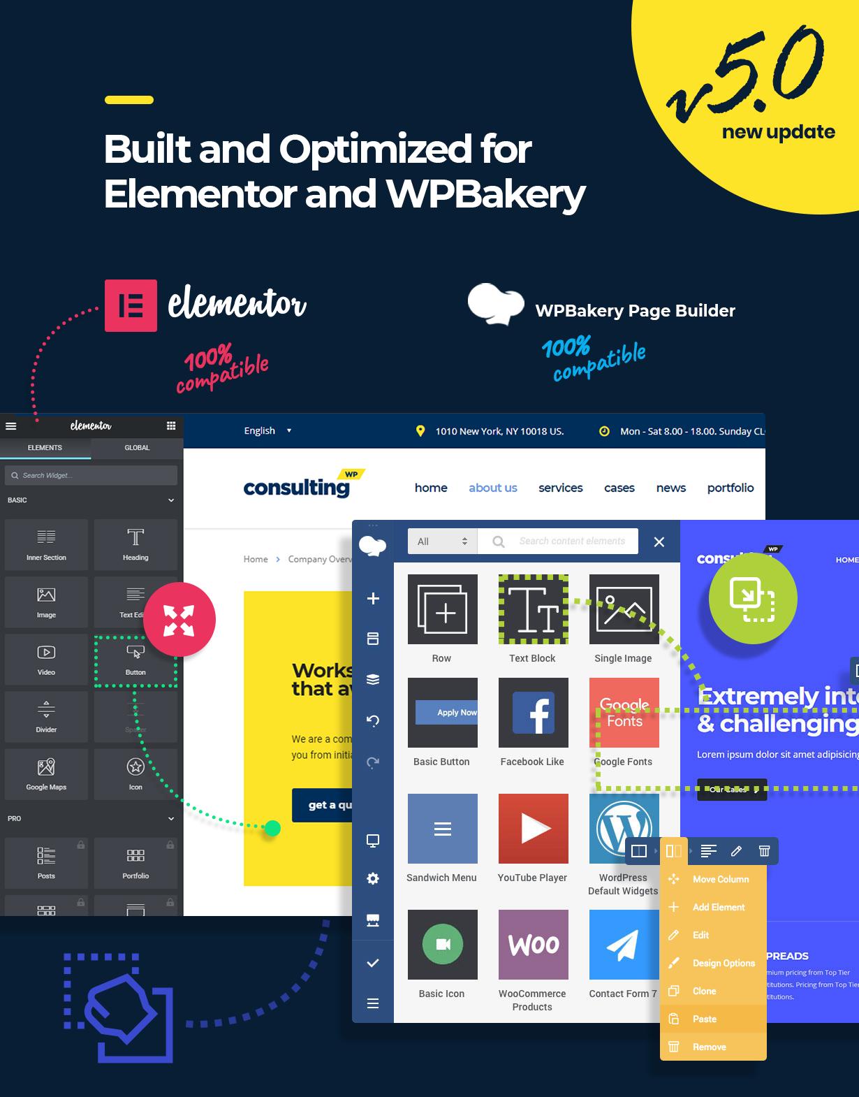 promo elementor - Consulting - Business, Finance WordPress Theme