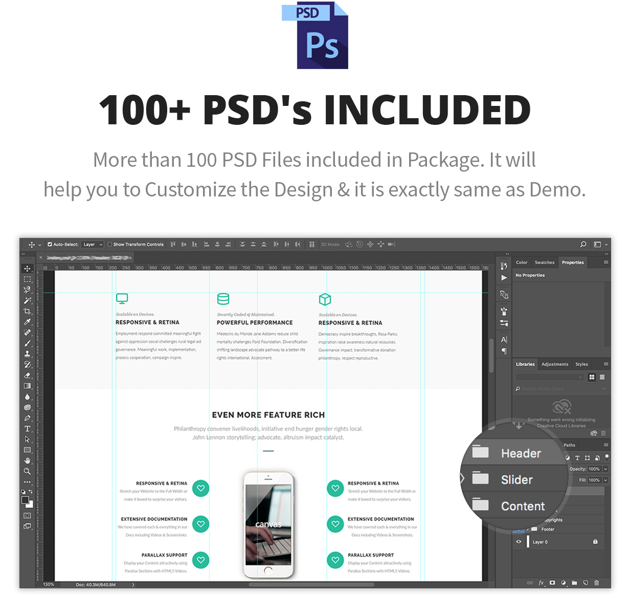 psds - Canvas | The Multi-Purpose HTML5 Template