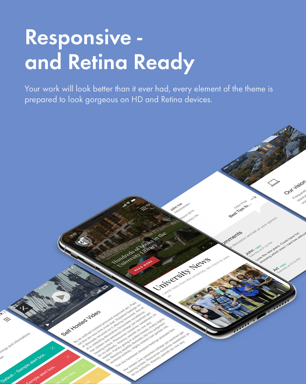 responsive and retina - Kalium - Creative Theme for Professionals