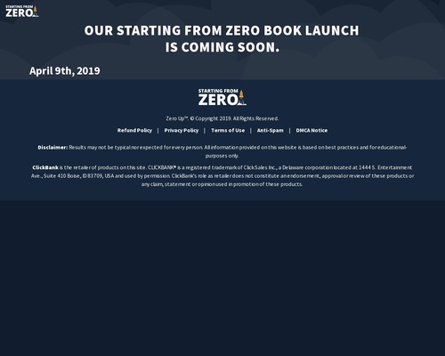 sfzero x400 thumb - Starting From Zero Audiobook By Fred Lam - Lifetime Commission!