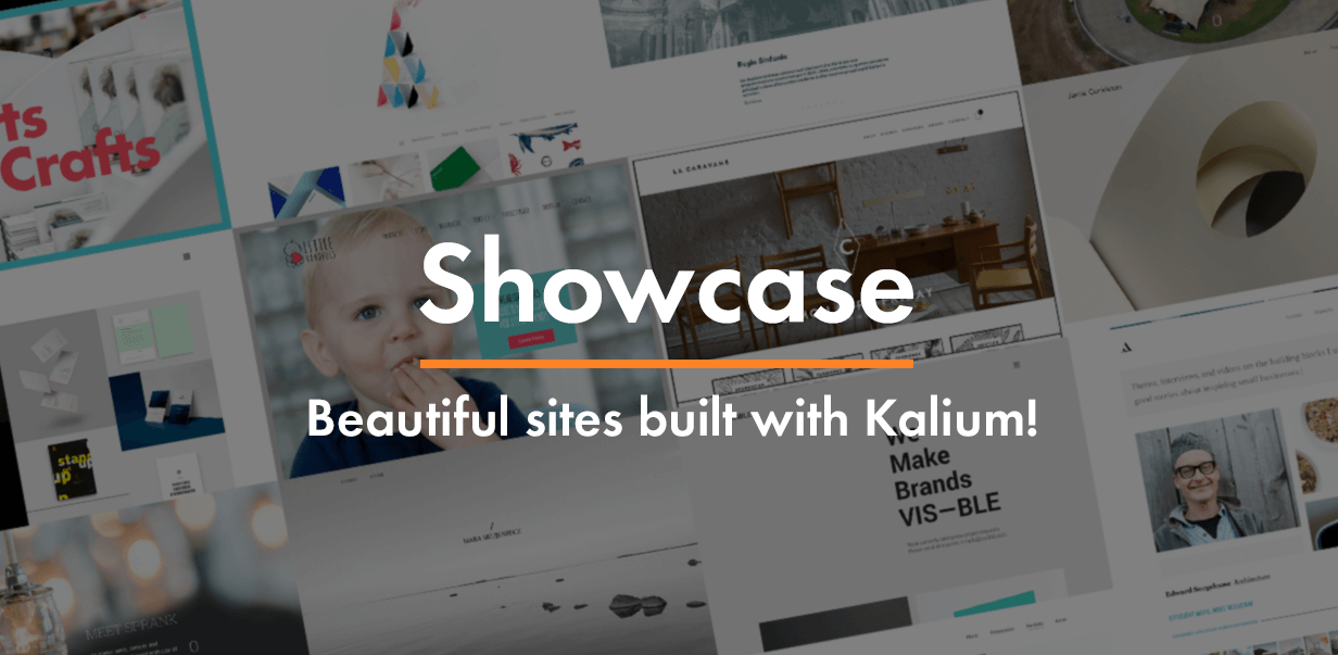 showcase - Kalium - Creative Theme for Professionals