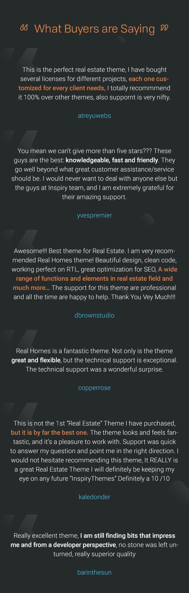 testimonials - RealHomes - Estate Sale and Rental WordPress Theme