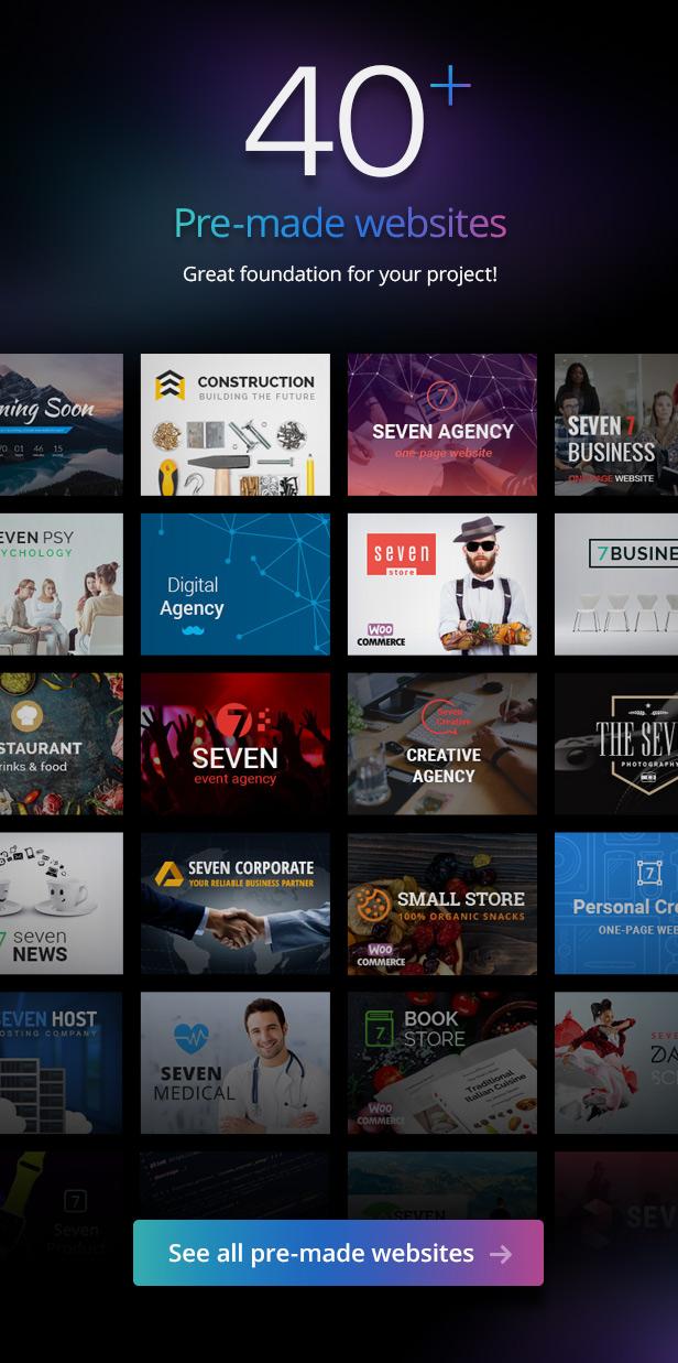 the7 demos 31.10.18 - The7 — Multi-Purpose Website Building Toolkit for WordPress