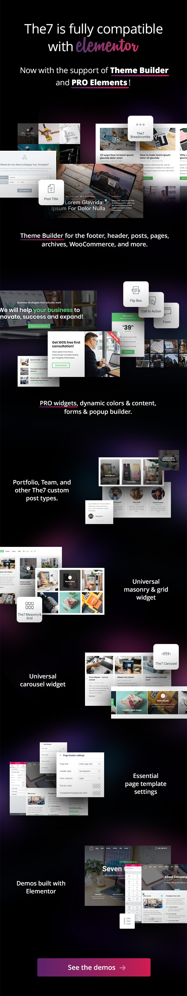 the7 elementor 01.06.20 - The7 — Multi-Purpose Website Building Toolkit for WordPress