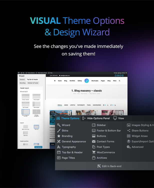 the7 visual 31.10.18 - The7 — Multi-Purpose Website Building Toolkit for WordPress