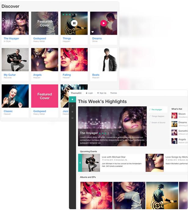 theme music - ThemeKit - Bootstrap Admin Theme Kit