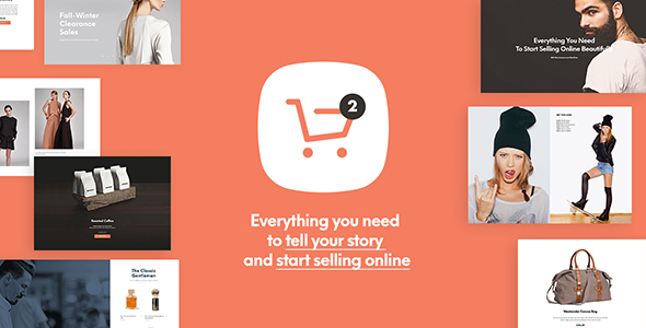 theme preview 590 300 large preview.  large preview - Shopkeeper - eCommerce WordPress Theme for WooCommerce