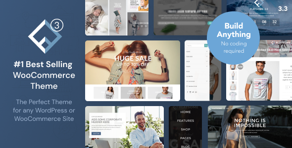themeforest poster.  large preview - Flatsome | Multi-Purpose Responsive WooCommerce Theme
