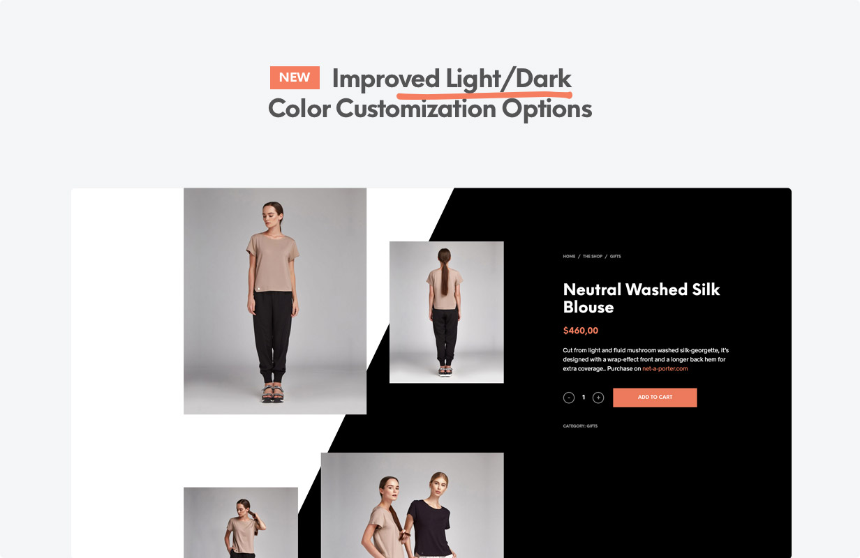 title improved dark light - Shopkeeper - eCommerce WordPress Theme for WooCommerce