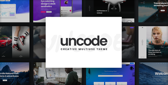 uncode.  large preview - Uncode - Creative Multiuse WordPress Theme