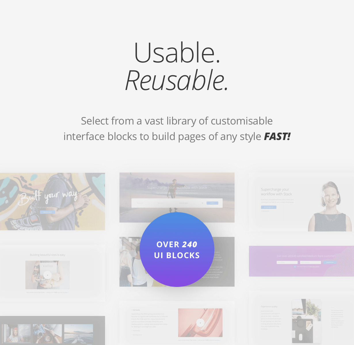 usable - Stack - Multi-Purpose WordPress Theme with Variant Page Builder & Visual Composer