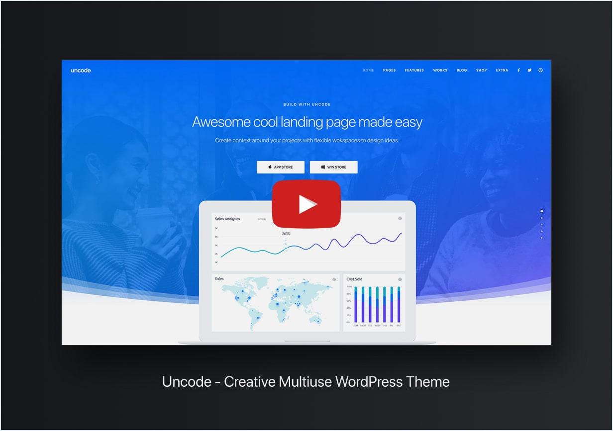 video min - Uncode - Creative Multiuse WordPress Theme