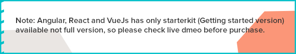 warning - Elite Admin - Bootstrap 4, Angular, React & VueJs  Dashboard Template