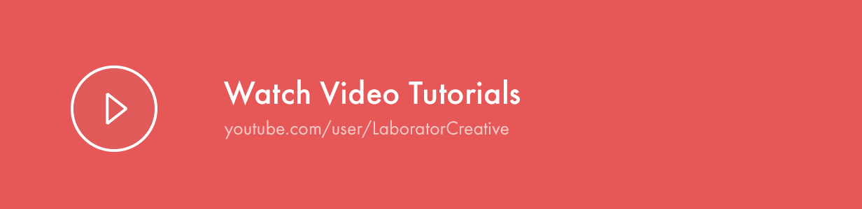 watch video tutorials - Kalium - Creative Theme for Professionals