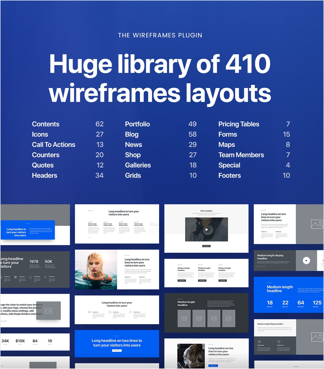 wireframes new min - Uncode - Creative Multiuse WordPress Theme