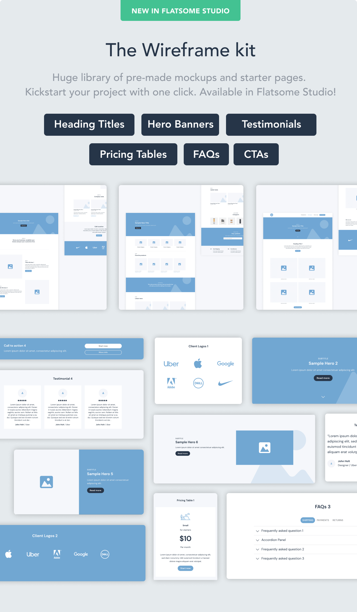 wireframes - Flatsome | Multi-Purpose Responsive WooCommerce Theme