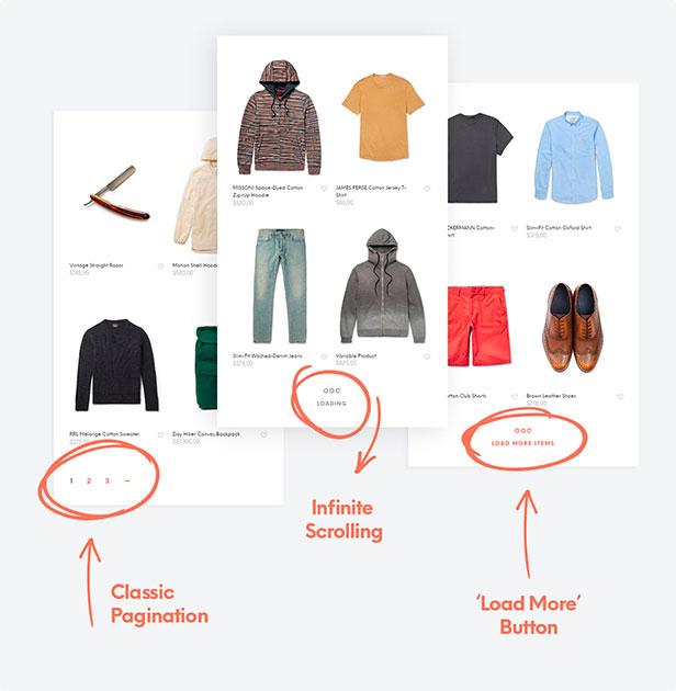 woocommerce infinite scrolling - Shopkeeper - eCommerce WordPress Theme for WooCommerce
