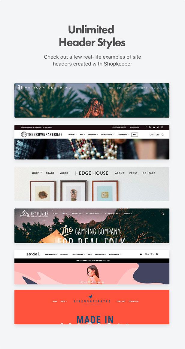 woocommerce shopkeeper header style - Shopkeeper - eCommerce WordPress Theme for WooCommerce