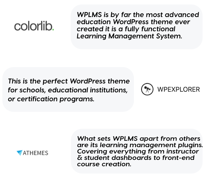 wplms professional reviews - WPLMS Learning Management System for WordPress, Education Theme