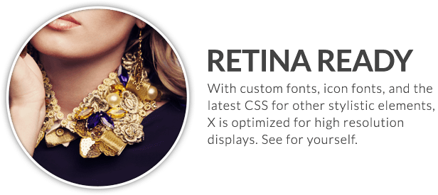 x feature small retina ready - X | The Theme