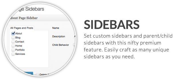 x feature small sidebars - X | The Theme