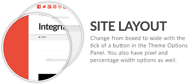x feature small site layout - X | The Theme