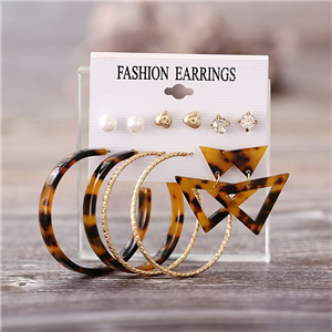 00450495 01e7 4e36 abb0 1570d8c08902.  CR0,0,300,300 PT0 SX300 V1    - 36 Pairs Fashion Tassel Earrings Set for Women Girls Bohemian Acrylic Hoop Stud Drop Dangle Earring Leather Leaf Earrings for Birthday/Party/Christmas/Friendship Gifts