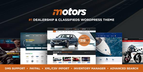 00 motors preview new.  large preview - Motors - Car Dealer, Rental & Classifieds WordPress theme
