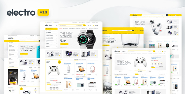 01 Electro Preview 2 old.  large preview - Electro Electronics Store WooCommerce Theme
