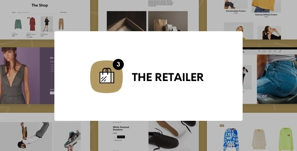 01 the retailer theme preview.  large preview - The Retailer - eCommerce WordPress Theme for WooCommerce