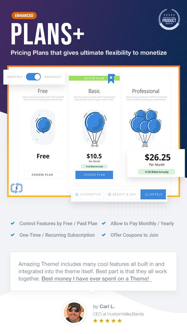 05 PLAN - ListingPro - WordPress Directory Theme